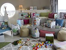 (de) LÄSSIG – Blogger unter sich: Willkommen im kunterbunten Kinderzimmer-Chaos!